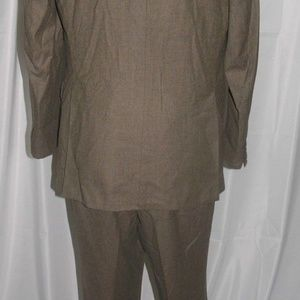 Mr. Ned Suits & Blazers - Mr. Ned Custom Flannel Weight Hacking Suit 42 XL